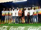 tour cycliste de Martinique 2016 - équipe Guadeloupe