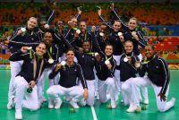 équipe france féminine_vice champion olympique