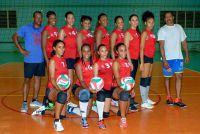 sélection Martinique féminine volley