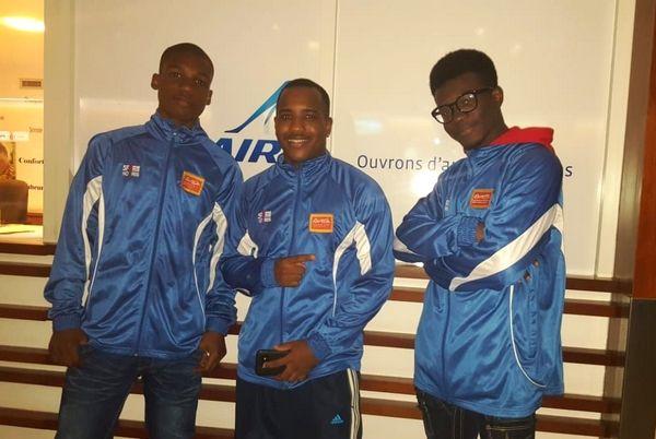 MA Coranson Beaudu, Lionel Nitharum (coach), Irwin Rotzen