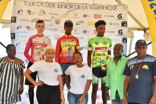 tour junior martinique2018_podium et1