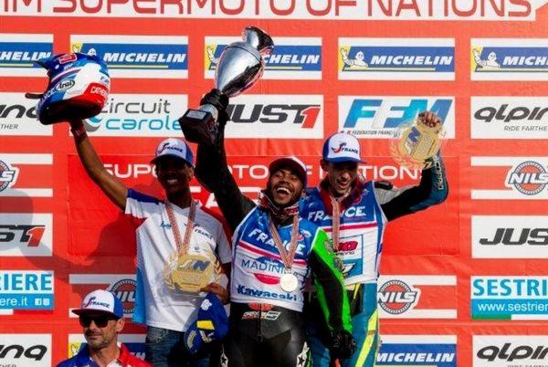 championnat monde junior 2021-podium